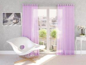 Dekorační záclona DIANA světle fialová 140x245 cm MyBestHome