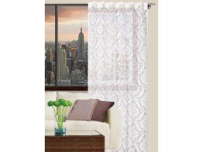 Dekorační záclona PALERMO bílá 140x270 cm MyBestHome