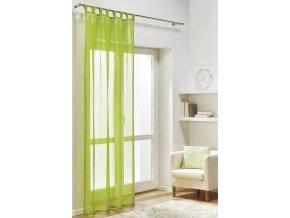 Dekorační záclona DIANA zelená 140x245 cm MyBestHome