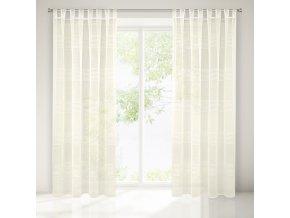 Dekorační záclona GAMMA krémová 140x250 cm MyBestHome