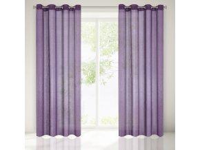 Dekorační záclona FRYDRYK fialová 140x250 cm MyBestHome