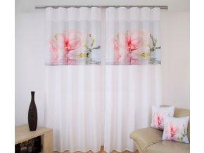3D dekorační závěs 103 FLOWER 1x160x250 cm MyBestHome