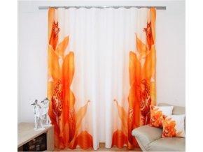 3D dekorační závěs 28 ORCHIDEJ 2x160x250 cm MyBestHome