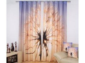 3D dekorační závěs 46 PAMPELIŠKA 2x160x250 cm MyBestHome