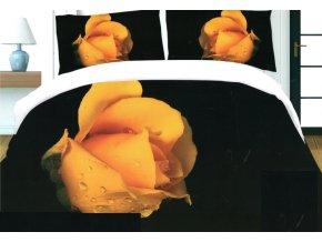 Povlečení 3D KVĚTY 171 set 3 ks, 140x200 cm, 2x povlak 70x80 cm MyBestHome
