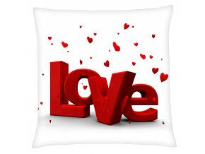 Polštář LOVE 20 Mybesthome 40x40 cm