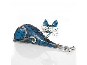 KATO dekorativní soška modrá 33x8x12 cm Mybesthome
