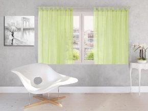 Dekorační záclona DIANA zelená 140x160 cm MyBestHome