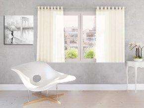 Dekorační záclona DIANA smetanová 140x160 cm MyBestHome