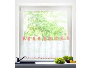 Dekorační krátká záclonka do kuchyně CLASSIC 45x150 cm MyBestHome