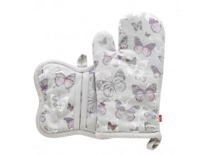 Kuchyňská rukavice/chňapka CARACAS 18x30cm/21X17 cm HOME & YOU, 100% bavlna