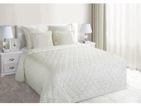 Přehoz na postel NOEL 200x220 cm krémová Mybesthome