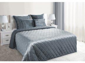 Přehoz na postel NOEL 200x220 cm šedá Mybesthome