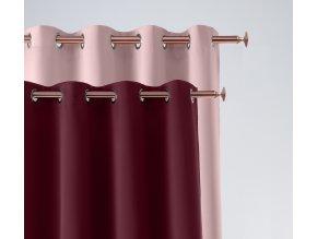 Dekorační závěs EASY lila 140x250 cm MyBestHome