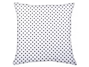Bavlněný polštář PUNTINI, 100% bavlna, bílá, 45x45 cm Mybesthome