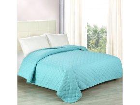 Přehoz na postel ALISON 200x220 cm modrá ESSEX