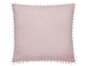 Polštář HARMONIA 45x45cm růžová MyBestHome