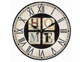 Nástěnné hodiny HOME 34x4 cm Mybesthome