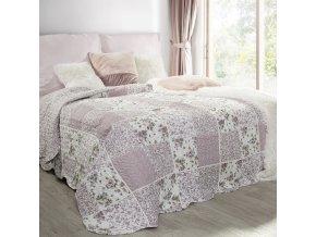 Přehoz na postel ENZO 220x240 cm šedá Mybesthome