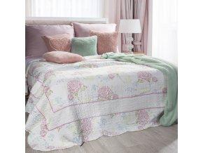Přehoz na postel ADEMIR 220x240 cm růžová Mybesthome