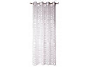 Dekorační vzorovaná záclona LAGOS bílá 140x250 cm MyBestHome