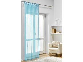 Dekorační záclona DIANA tyrkysová 140x245 cm MyBestHome