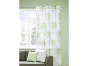 Dekorační záclona KLIWIA zelená 140x245 cm MyBestHome