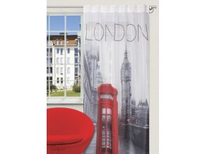 Dekorační záclona LONDON 140x245 cm MyBestHome