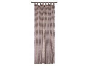 Dekorační záclona FARO čokoládová 140x245 cm MyBestHome