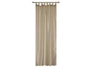 Dekorační záclona FARO béžová 140x245 cm MyBestHome