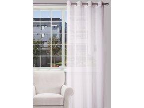 Dekorační luxusní záclona ENIGMA bílá 140x250 cm MyBestHome