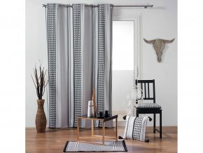 Dekorační závěs ATHENA, 100% bavlna 140x240 cm MyBestHome