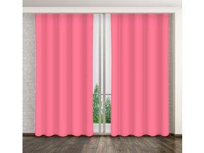 Dekorační závěs 19 tmavě růžová 160x250 cm MyBestHome