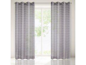 Dekorační vzorovaná záclona ATRAN 140x250 cm MyBestHome