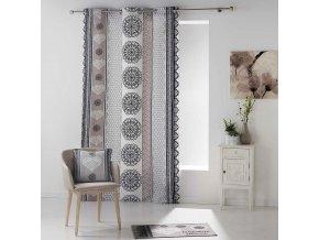 Dekorační závěs ANGELIKA, 100% bavlna 140x240 cm MyBestHome