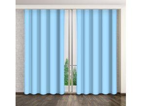 Dekorační závěs 21 světle modrá 160x250 cm MyBestHome