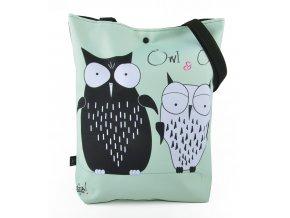Taška OWL AND OWL Gaul 42x32 cm, Gaul designs