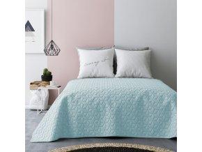 Přehoz na postel SIX STARS NEW 200x220 cm mátová/šedá MyBestHome