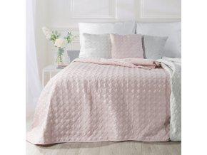 Přehoz na postel ABIGAL 200x220 cm růžová Mybesthome