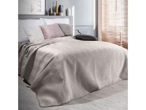 Přehoz na postel SOPHIA 200x220 cm béžová Mybesthome