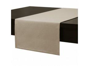 Ubrus - běhoun na stůl MAROKO 40x180 cm, béžová, ESSEX
