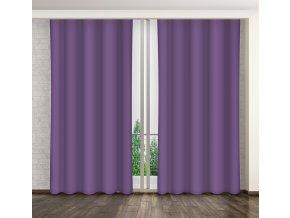 Dekorační závěs 27 fialová 160x250 cm MyBestHome