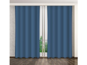 Dekorační závěs 28 tmavě modrá 160x250 cm MyBestHome