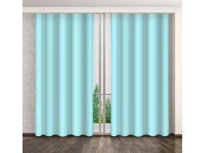 Dekorační závěs 31 světle modrá 160x250 cm MyBestHome
