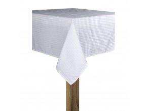 Ubrus DOTS 130x180 cm bílá, ESSEX