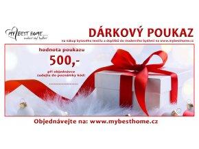 DÁRKOVÝ POUKAZ Mybesthome.cz