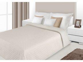 Přehoz na postel SERENA 220x240 cm béžová Mybesthome