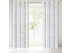 Dekorační záclona AREN bílá 140x250 cm MyBestHome