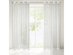 Dekorační záclona AVELYN krémová 140x250 cm MyBestHome