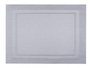 Prostírání CLOTH 33x45 cm stříbrná HOME & YOU
